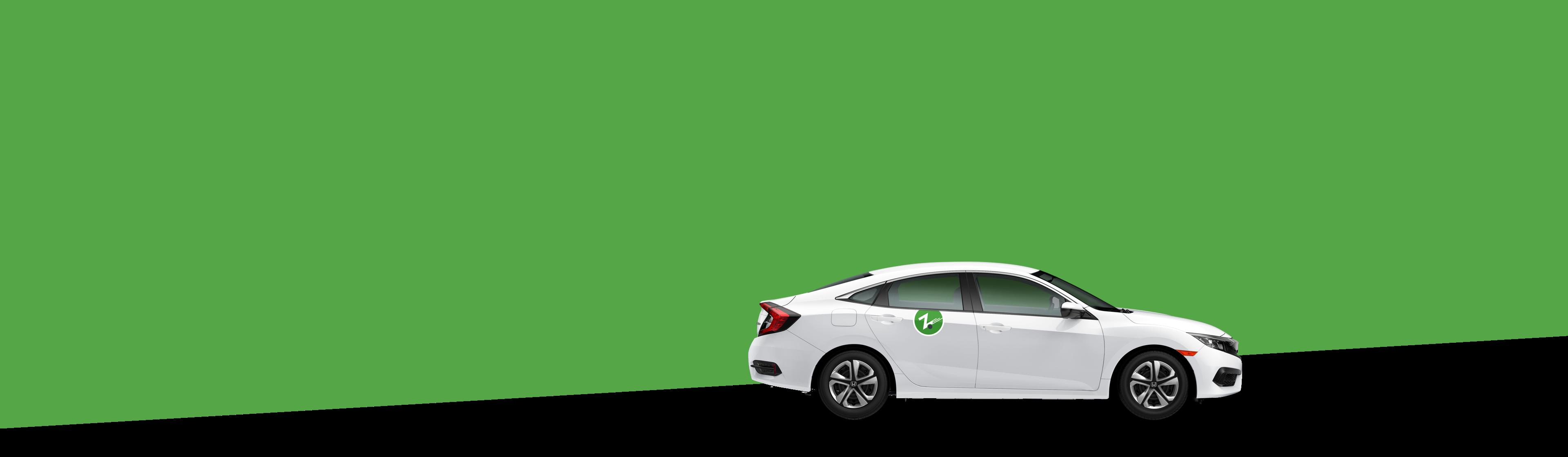 green-background-white-zipcar